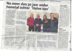 Halve Oostvoorne in de pers